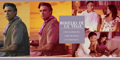 Rogelio De La Vega Coloring Psd