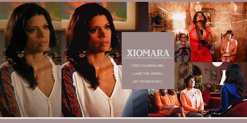 Xiomara Coloring Psd.