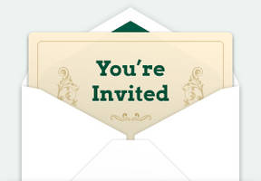 Animated Invitation and Envelope