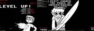 Scott Pilgrim LEVEL UP! Suite UPDATE: Version 2 by drkbrown