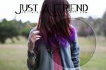 PSD Just A Friend By Julieta7599~