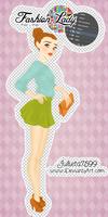 Fashion Lady PSD y PNG By Julieta7599