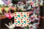 Origami Crane {Pattern}