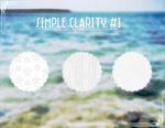 Simple Clarity #1 {Patterns}