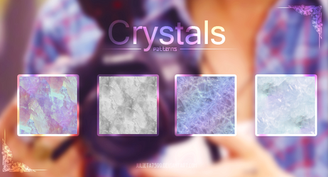 Crystals {Patterns}