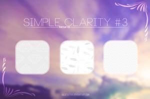 Simple Clarity #3 {Patterns} by Julieta7599
