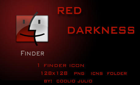 red darkness finder icon