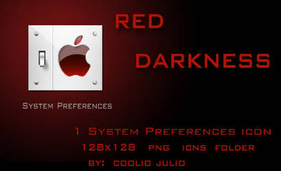 red darkness system pref icon