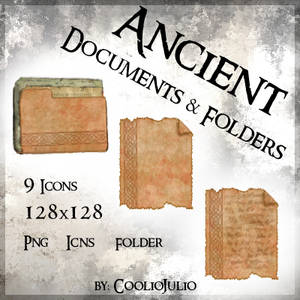 Ancient Documents and Folders