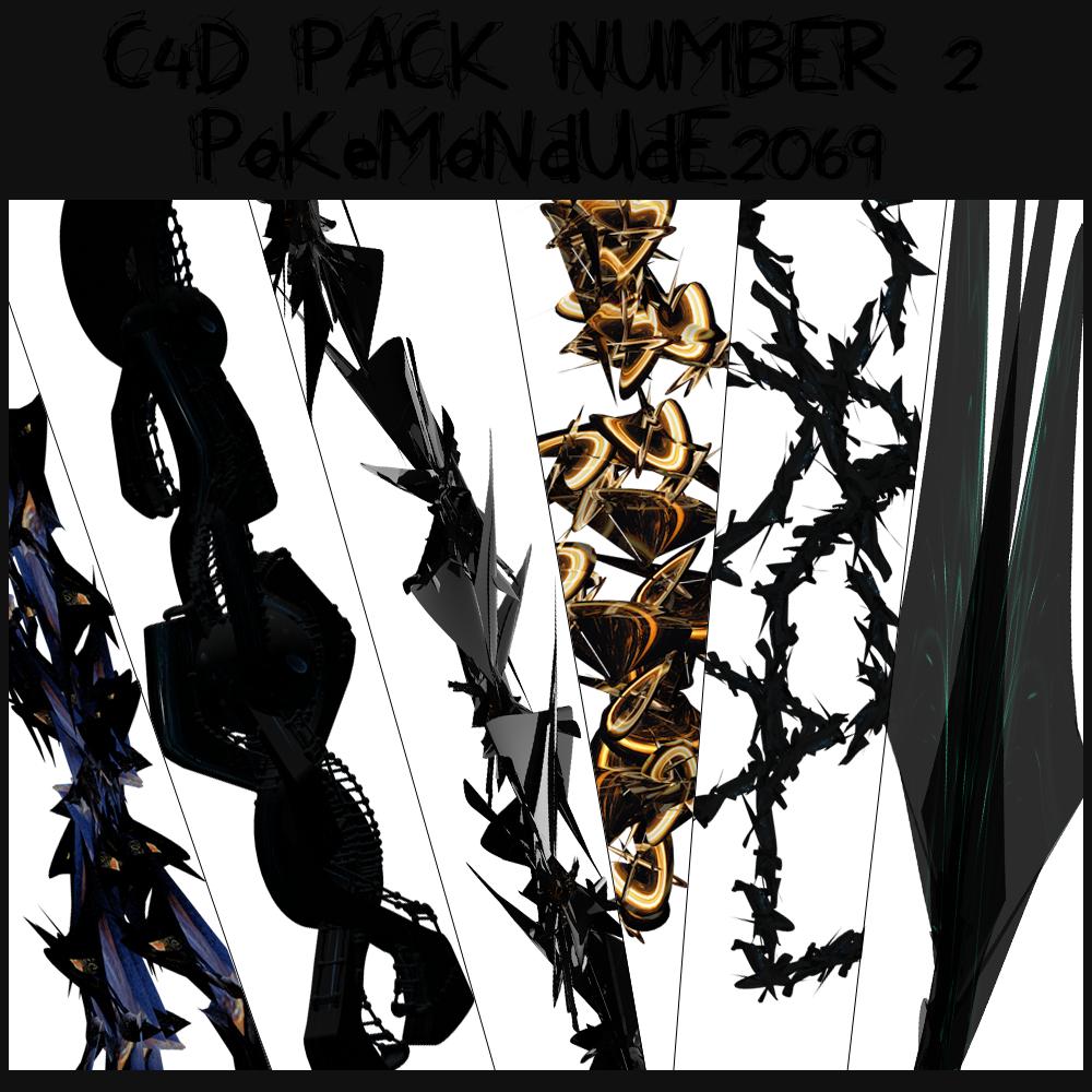 C4D PACK 2 by PoKeMonDuDe2069