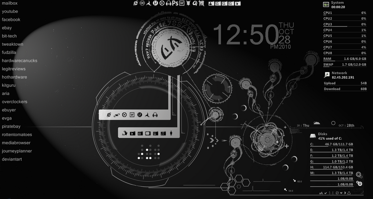 my rainmeter by theholyghost