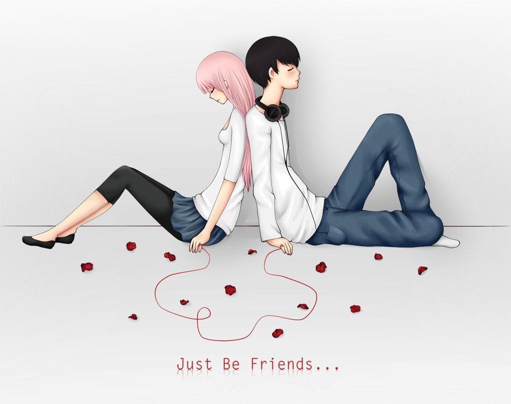 Just Be Friends- Luka Megurine Lyrics by OtakuForEternity ...