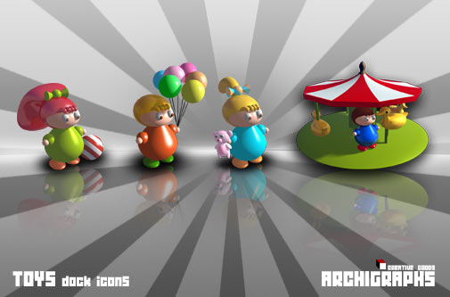 Archigraphs Dock Icons