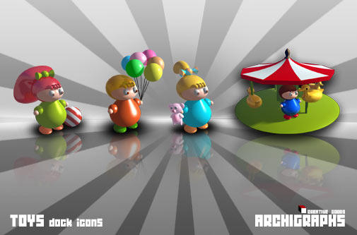 Archigraphs Dock Icons by Cyberella74