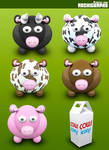 Archigraphs Cows Dock Icons