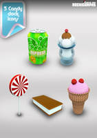 Archigraphs Candy Dock Icons by Cyberella74