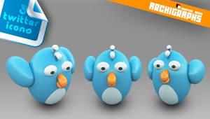 Twitter dock icons