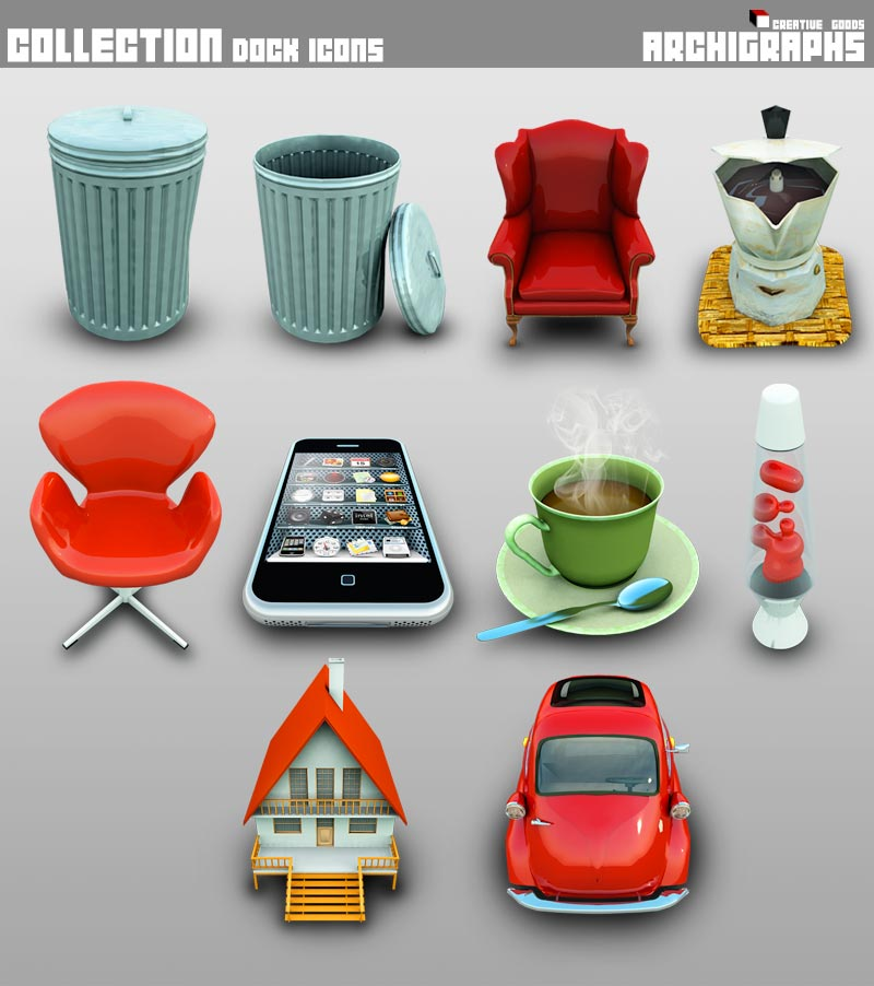 Archigraphs Collection Icons