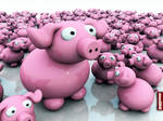 Archigraphs Pigs Wallpapers