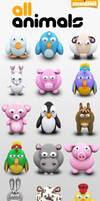 Archigraphs Animals Icons