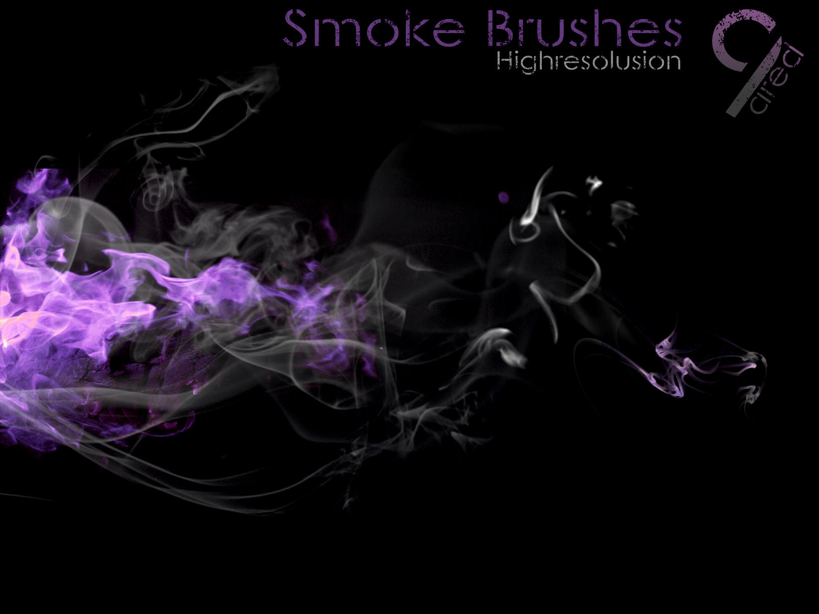 smoke brush l by ared09