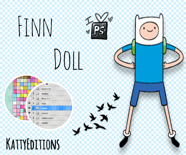 Finn Doll by KattyEditionss