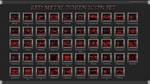 Red Metal Token Icon Set