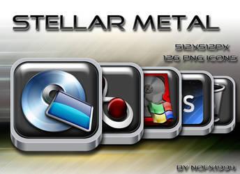 Stellar Metal Icon Set