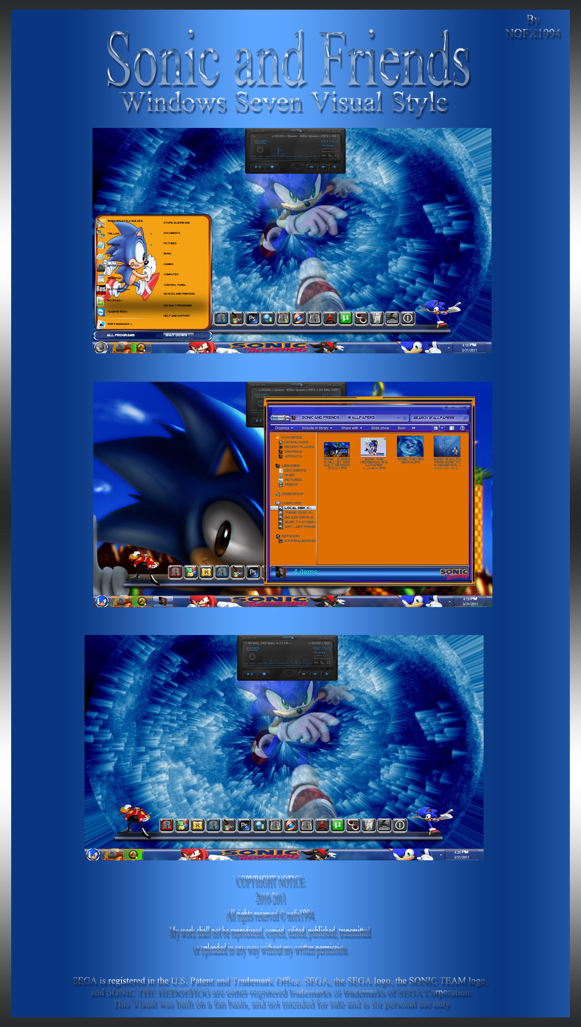Sonic and Friends Theme