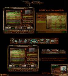 Anachronism Aimp Skin by nofx1994