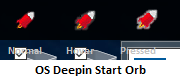 OS Deepin Start Orb by SpezMacGuy