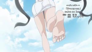 What's That? More Hestia Feet? Yup~ GIF