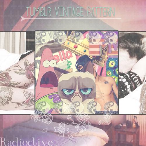 Tumblr Vintage Pattern by iFuckingParadise