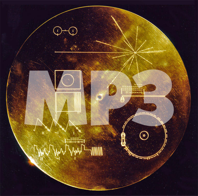 Voyager Golden Record: Images by mjponso on DeviantArt