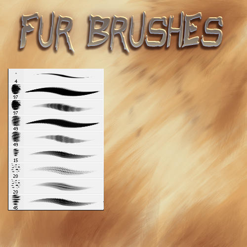 Fur Brushes by El-Chupacabras