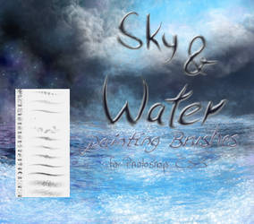 Sky and Water painting brushes