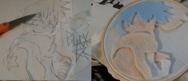 BS Embroidery Hoop - WIP