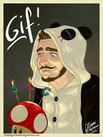 Happy 3rd birthday SLG - GIF