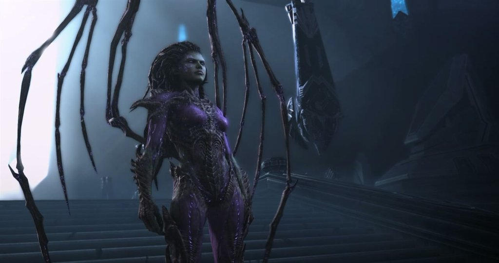 Mortal Kombat Guest Fighter Sarah Kerrigan By