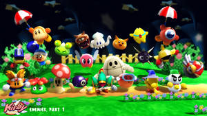 (MMD/XPS) Kirby Enemies Part 1 Download by SAB64