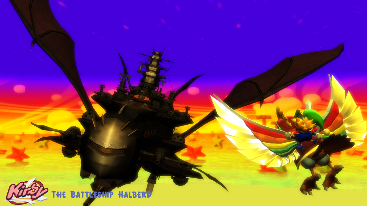(MMD Stage) Battleship Halberd Download by SAB64