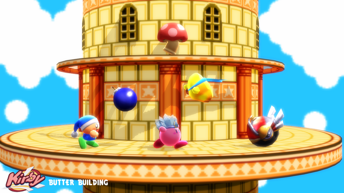 (MMD Stage) Butter Building Download by SAB64