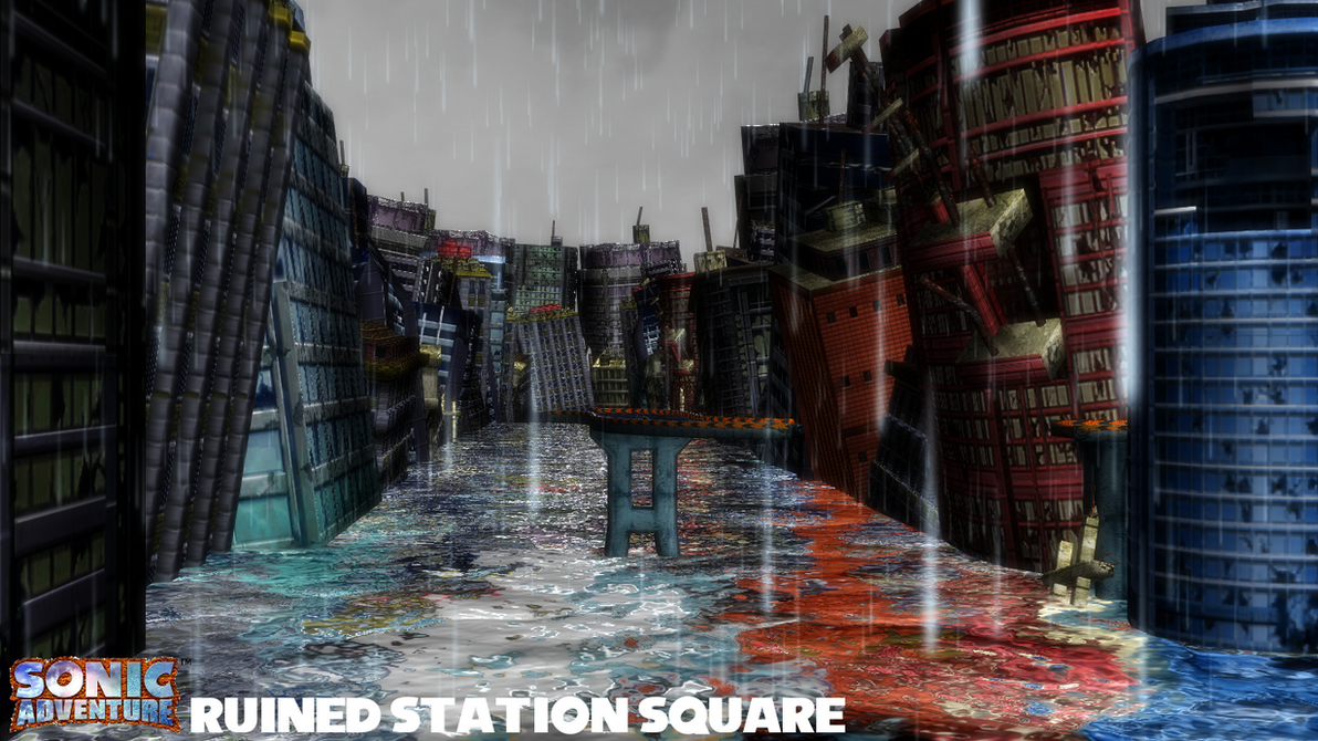 (MMD Stage) Ruined Station Square Download by SAB64