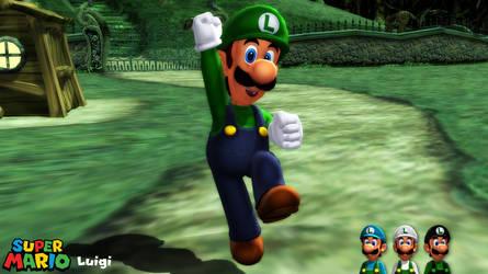 (MMD Model) Luigi v2 Download