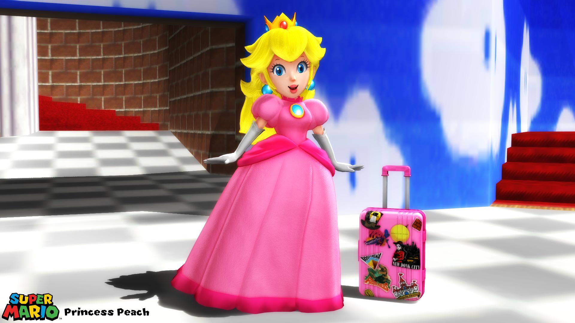 Mmd Model Princess Peach Odyssey Download By Sab64 On