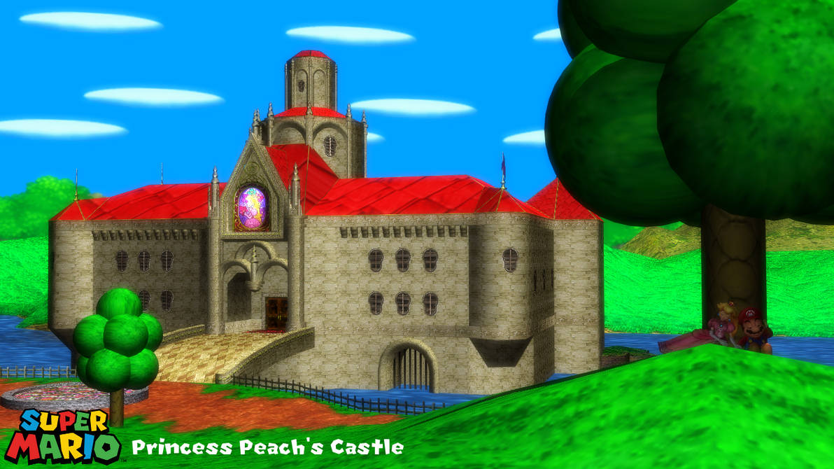 MMD Stage) Peach's Castle Download by SAB64 on DeviantArt