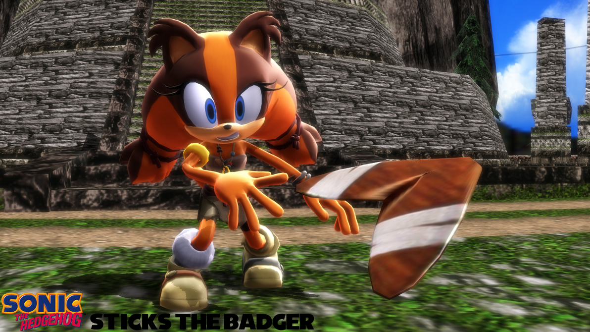 mmd model sticks the badger download by sab64 on deviantart