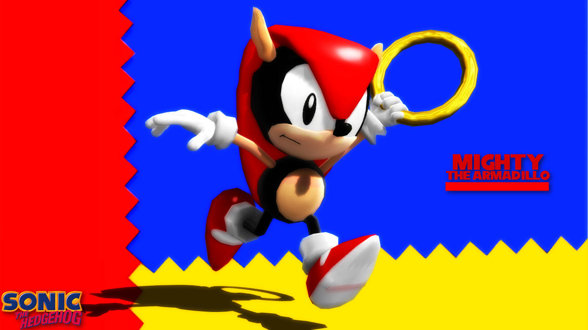(MMD/FBX Model) Mighty the Armadillo Download by SAB64 ...