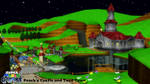 (MMD Stage) Peach's Castle (Super Mario Galaxy) DL