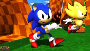 (MMD Model) Sonic the Hedgehog (Classic) Download
